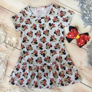 Other - Boutique Girls Minnie Tunic & Bow